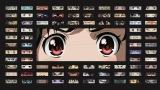"""アニメキャラ280人の「目」だけ一挙展示 Netflixが新宿駅地下をアニ""""目""""ジャック"""