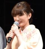 映画『ちはやふる —結び—』の完成披露試写会に出席した優希美青 (C)ORICON NewS inc.