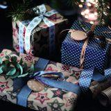 イケア・クリスマスコレクション/VINTER ヴィンテル2016/リボン 3点セット グレー/ホワイト/レッド /税込499円