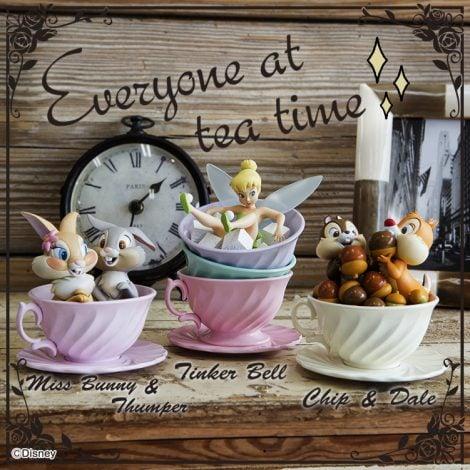サムネイル ディズニーキャラクターのオリジナルグッズが当たる『1番くじ ディズニーキャラクターズ 〜Happiness Tea Party〜』が登場