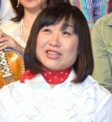 プロジェクト「吉本坂46」が始動会見に出席したしずちゃん (C)ORICON NewS inc.