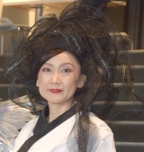 ミュージカル『新☆雪のプリンセス』の囲み取材に出席した一路真輝 (C)ORICON NewS inc.