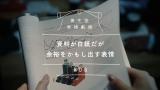 真木よう子がWeb動画『資生堂表情劇場』で演じている「資料が白紙だが余裕をかもし出す表情」