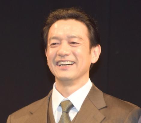 舞台『アンフェアな月』の初日前囲み取材に参加した飯田基祐 (C)ORICON NewS inc.