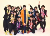 和田アキ子&BOYS AND MEN 研究生 (C)ORICON NewS inc.