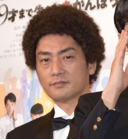 松田賢二=舞台『99才まで生きたあかんぼう』公開ゲネプロ (C)ORICON NewS inc.