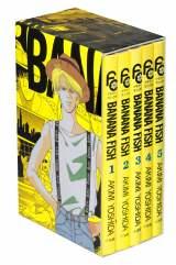 原作コミック『BANANA FISH』復刻版BOX Vol.1〜4、3月9日より4ヶ月連続刊行。フラワーコミックスの黄色いカバーを完全再現。コミックス未収録の「PRIVATE OPINION」ほか、すべての番外編を収録(C)吉田秋生・小学館