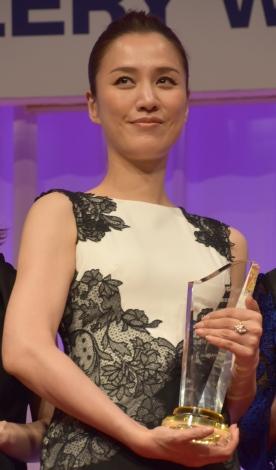 遼河はるひ=『第29回 日本ジュエリー ベストドレッサー賞』授賞式 (C)ORICON NewS inc.