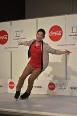 """コカ・コーラの『""""ウチのコークは世界一""""「コカ・コーラ」平昌2018冬季オリンピック応援キャンペーンPRイベント』の模様"""