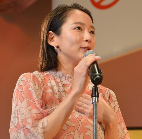 『2018年エランドール賞』授賞式に出席した吉岡里帆 (C)ORICON NewS inc.