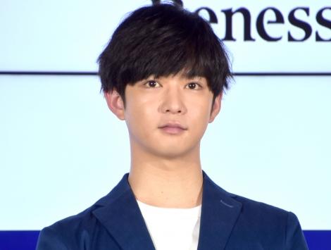 ベネッセコーポレーション『進研ゼミ』新CM発表会に出席した千葉雄大 (C)ORICON NewS inc.