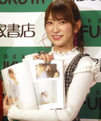 ランジェリーグラビアにも挑戦した吉田朱里=Ray3月号増刊『Queentet from NMB48』発売記念イベント (C)ORICON NewS inc.