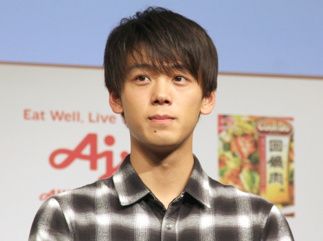 『Cook Do(クックドゥ)』新CM発表会に出席した竹内涼真 (C)ORICON NewS inc.