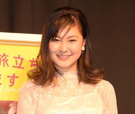 映画『あなたの旅立ち、綴ります』の公開直前イベントに出席した村上佳菜子 (C)ORICON NewS inc.