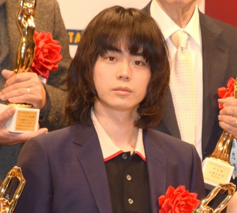 『第72回 毎日映画コンクール』の表彰式に出席した菅田将暉 (C)ORICON NewS inc.