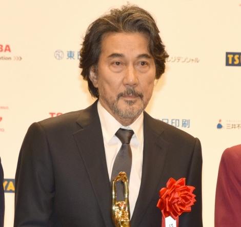『第72回 毎日映画コンクール』の表彰式に出席した役所広司 (C)ORICON NewS inc.