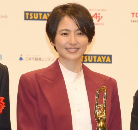 『第72回 毎日映画コンクール』の表彰式に出席した長澤まさみ (C)ORICON NewS inc.