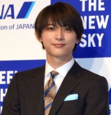 ANA『FEEL THE NEW SKY』プロモーション発表会に出席した吉沢亮 (C)ORICON NewS inc.