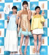 (左から)藤本美貴、森星、片岡安祐美 (C)ORICON NewS inc.