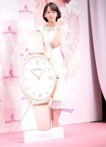 腕時計ブランド『エンジェルハート』の新イメージキャラクターに就任し時計のプレゼント願望を明かした吉岡里帆  (C)ORICON NewS inc.