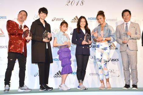 サムネイル (左から)レイザーラモンRG、古川雄輝、高橋愛、伊達公子、AYA、鈴木大地 (C)ORICON NewS inc.