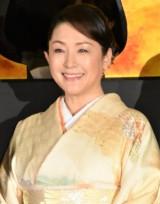 『空海 —KU-KAI— 美しき王妃の謎』初日舞台あいさつに出席した松坂慶子 (C)ORICON NewS inc.