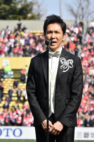 『スーパーラグビー2018開幕戦」で国歌斉唱した郷ひろみ