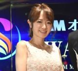 『DMMオンラインサロンAWARD2017』表彰式の司会を務めた紺野あさ美さん (C)ORICON NewS inc.