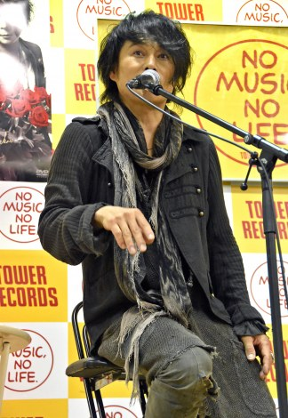 T-BOLANの森友嵐士(Vo)=DVD『T-BOLAN LIVE HEAVEN2017 夏の終わりに「再会」〜Acoustic Live Tour〜』発売記念イベント(C)ORICON NewS inc.