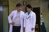4月2日放送のTBS系『ドラマ特別企画「がん消滅の罠」』(後8:00)に出演する渡部篤郎、唐沢寿明(C)TBS