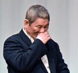 大杉漣さんを思い涙する北野武監督=『第27回東スポ映画大賞授賞式』 (C)ORICON NewS inc.
