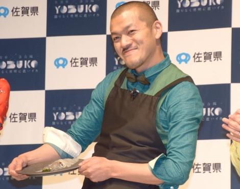 佐賀県の地方創生プロジェクト『YOBUKO HOLO-EXPERIENCE EXHIBITION』のイベントに出席したカミナリ・竹内まなぶ (C)ORICON NewS inc.