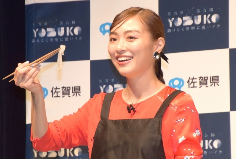 佐賀県の地方創生プロジェクト『YOBUKO HOLO-EXPERIENCE EXHIBITION』のイベントに出席した内田理央 (C)ORICON NewS inc.