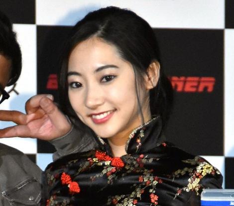 映画『ブレードランナー 2049』ブルーレイ&DVDリリース記念PRイベントに出席した武田玲奈 (C)ORICON NewS inc.