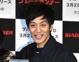 映画『ブレードランナー 2049』ブルーレイ&DVDリリース記念PRイベントに出席したとろサーモン・村田秀亮 (C)ORICON NewS inc.