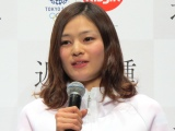 日清食品『東京2020オリンピック競技「近代五種」』応援宣言イベントに出演した才藤歩夢選手 (C)ORICON NewS inc.