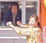 セブン-イレブンジャパンの『日本縦断 新セブンカフェ大試飲会』の出発式の模様 (C)ORICON NewS inc.
