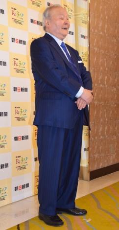 都内で開催された『朝日新聞ReライフFESTIVAL』に出席した加藤一二三九段(C)ORICON NewS inc.