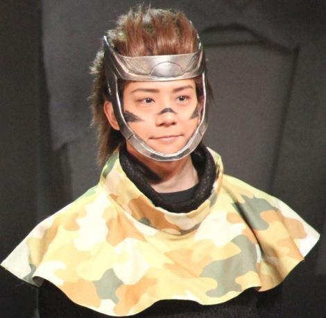 舞台『斬劇「戦国BASARA」第六天魔王』の初日あいさつに出席した椎名鯛造 (C)ORICON NewS inc.