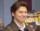 ミュージカル『HEADS UP!』東京公演前の囲み取材に出席した中川晃教 (C)ORICON NewS inc.