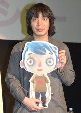アニメ『ぼくの名前はズッキーニ』公開記念トークショーに出席した峯田和伸 (C)ORICON NewS inc.