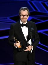 主演男優賞:ゲイリー・オールドマン『ウィンストン・チャーチル/ヒトラーから世界を救った男』 (C)GettyImages