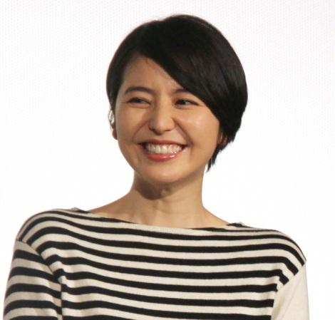 『映画ドラえもん のび太の宝島』初日舞台あいさつに出席した長澤まさみ (C)ORICON NewS inc.