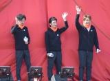 『パラ駅伝 in Tokyo 2018』に参加した(左から)稲垣吾郎、草なぎ剛、香取慎吾 (C)ORICON NewS inc.