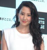 『DAZN for docomo SPORTS LOUNGE』OPセレモニーに出席した河北麻友子 (C)ORICON NewS inc.