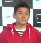 『DAZN for docomo SPORTS LOUNGE』OPセレモニーに出席したスピードワゴン・井戸田潤 (C)ORICON NewS inc.