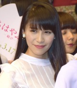 映画『ちはやふる —結び—』のイベントに登壇したPerfume・あ〜ちゃん (C)ORICON NewS inc.