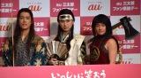 (左から)桐谷健太、松田翔太、濱田岳 (C)ORICON NewS inc.