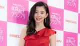 幕張メッセで開かれた食のグランプリ「FOODEX 美食女子」に出席した朝比奈彩
