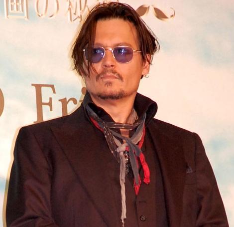 『好きなハリウッド男優ランキング』1位のジョニー・デップ (C)ORICON NewS inc.